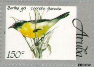 Aruba AR 216  1998 Vogels 150 cent  Gestempeld