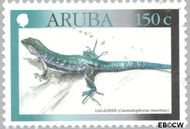 Aruba AR 246  2000 Hagedissen 100 cent  Gestempeld