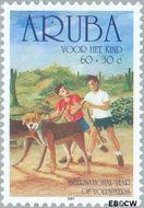 Aruba AR 276  2001 Kinderzegels 60+30 cent  Gestempeld