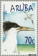 Aruba AR 316  2004 Watervogels 70 cent  Gestempeld