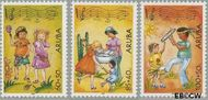 Aruba AR 324#326  2004 Kinderzegels  cent  Gestempeld