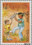 Aruba AR 326  2004 Kinderzegels 100+50 cent  Gestempeld