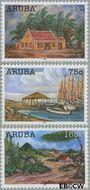 Aruba AR 355#357  2006 Kunst  cent  Gestempeld