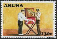 Aruba AR 393  2008 Cultureel jaar 130 cent  Gestempeld