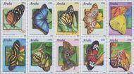 Aruba AR 500#509  2010 Vlinders  cent  Postfris