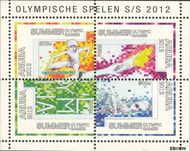 Aruba AR 601  2012 Olympische Spelen Londen  cent  Postfris