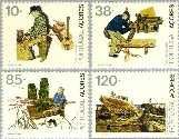 azo 426#429 Postfris 1992 Beroepen