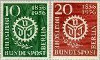 Berlin ber 138#139  1956 Vereniging Ingenieurs  Postfris
