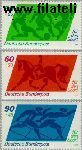 Bundesrepublik BRD 1046#1048  1980 Voor de sport  Postfris