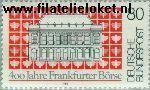 Bundesrepublik BRD 1257#  1985 Beurs Frankfurt  Postfris