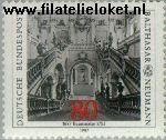 Bundesrepublik BRD 1307#  1987 Neumann, Balthazar  Postfris