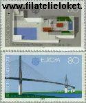 Bundesrepublik BRD 1321#1322  1987 C.E.P.T.- Moderne architectuur  Postfris