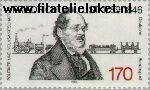 Bundesrepublik BRD 1429#  1989 List, Friedrich  Postfris