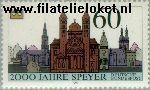 Bundesrepublik BRD 1444#  1990 Speyer  Postfris