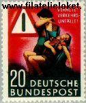 Bundesrepublik BRD 152#  1953 Veiligheid in verkeer  Postfris