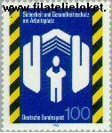 Bundesrepublik BRD 1649#  1993 Veiligheid en gezondheid op de werkplek  Postfris