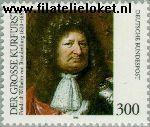 Bundesrepublik BRD 1781#  1995 Friedrich Grossen Kurfürsten  Postfris