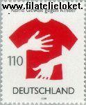 Bundesrepublik BRD 2013#  1998 Geen geweld tegen kinderen  Postfris