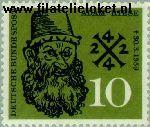 Bundesrepublik BRD 308#  1959 Riese, Adam  Postfris