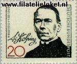 Bundesrepublik BRD 477#  1965 Kolping, Adolf  Postfris