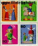 Bundesrepublik BRD 705#708  1971 Speelgoed  Postfris