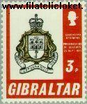Gibraltar gib 283#  1971 Regiment Gibraltar  Postfris