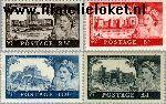 Groot-Brittannië grb 335#338  1959 Kastelen  Postfris