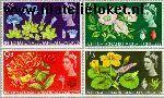 Groot-Brittannië grb 378#381  1965 Botanisch Congres  Postfris
