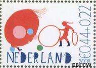 Nederland NED 2608a  2008 Laat kinderen leren 44+22 cent  Gestempeld