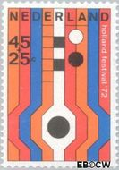 Nederland NL 1006  1972 Holland Festival 45+25 cent  Gestempeld