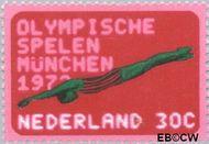 Nederland NL 1013  1972 Olympische Spelen- München 30 cent  Gestempeld