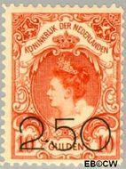 Nederland NL 104  1920 Opruimingsuitgifte 250#1000 cent  Ongebruikt