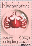 Nederland NL 1053  1974 Koningin Wilhelminafonds 25 cent  Gestempeld