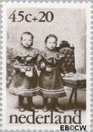 Nederland NL 1061  1974 Oude kinderfoto's 45+20 cent  Gestempeld