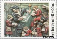 Nederland NL 1082  1975 Gevelstenen 60+25 cent  Gestempeld