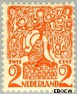 Nederland NL 111  1923 Diverse voorstellingen 2 cent  Gestempeld