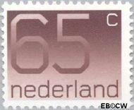 Nederland NL 1116  1986 Cijfer type 'Crouwel' 65 cent  Gestempeld