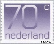 Nederland NL 1117a  1991 Cijfer type 'Crouwel' 70 cent  Postfris