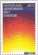 Nederland NL 1128  1977 Energiebesparing 40 cent  Gestempeld