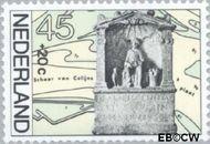 Nederland NL 1134  1977 Archeologische vondsten 45+20 cent  Gestempeld