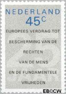 Nederland NL 1157  1978 Europees Verdrag Rechten van de Mens 45 cent  Gestempeld