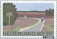Nederland NL 1197  1980 Landschappen 80+35 cent  Gestempeld