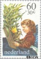 Nederland NL 1212  1980 Kind en boeken 60+30 cent  Gestempeld