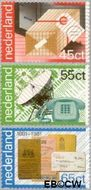 Nederland NL 1220#1222  1981 PTT-diensten  cent  Postfris