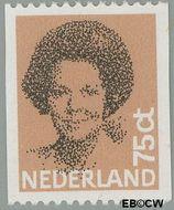 Nederland NL 1239a  1982 Koningin Beatrix- Type 'Struycken' 75 cent  Gestempeld