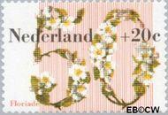 Nederland NL 1262  1982 Floriade 50+20 cent  Gestempeld
