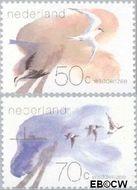 Nederland NL 1268#1269  1982 Waddengebied  cent  Gestempeld