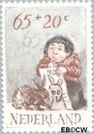 Nederland NL 1277  1982 Kind en dier 65+20 cent  Gestempeld