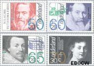 Nederland NL 1281#1284  1983 Bekende personen  cent  Gestempeld