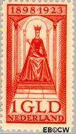 Nederland NL 129  1923 Koningin Wilhelmina- Regeringsjubileum 100 cent  Gestempeld